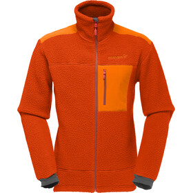 """Norrøna M's Trollveggen Thermal Pro Jacket Burnt Orange"""